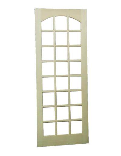 Porta de madeira Casmavi 24 vidros