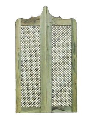 Porta de madeira Casmavi Bang Bang Trelica