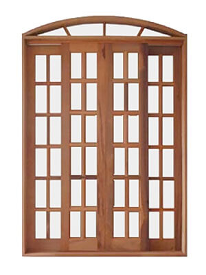 Porta de madeira Casmavi Correr Arco