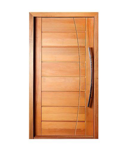 Porta de madeira Mapaf BBB frisada