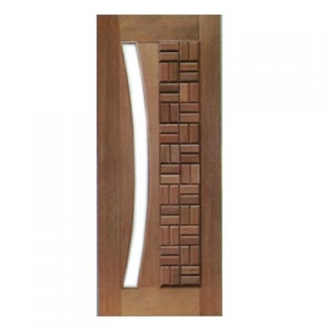 Porta Pivotante Clássica para Vidro em Arco Casmavi