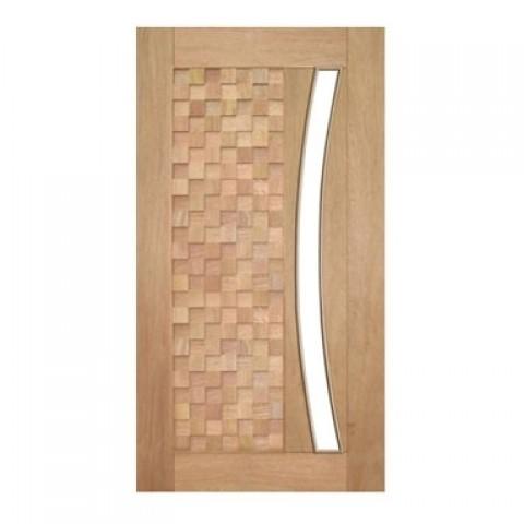 Porta Pivotante Detalhe para Vidro em Arco Casmavi