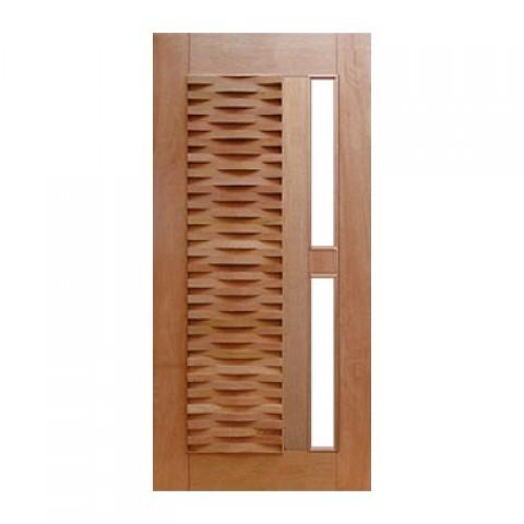 Porta Pivotante Ripada para Vidro Casmavi
