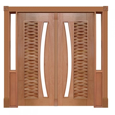 Portal Pivotante - 135 - Ripada para Vidro em Arco Voltar Casmavi