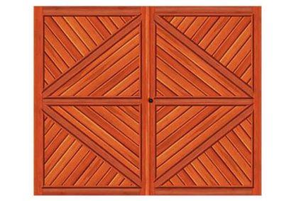 portao de madeira MR11 - madeireira rezende