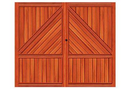 portao de madeira MR12 - madeireira rezende