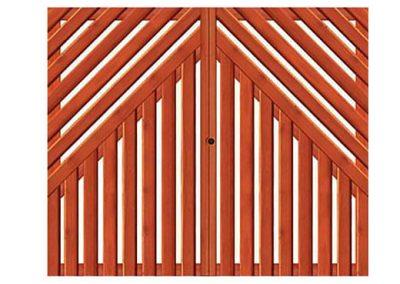 portao de madeira MR14 - madeireira rezende