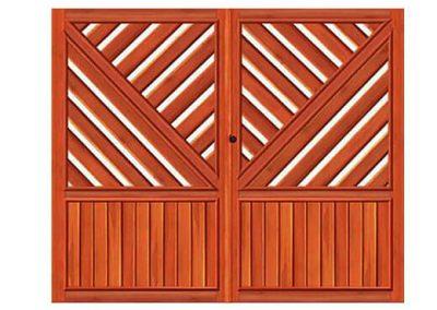 portao de madeira MR18 - madeireira rezende