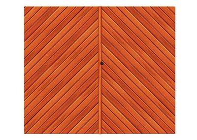 portao de madeira MR25 - madeireira rezende