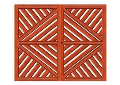 portao de madeira MR27 - madeireira rezende