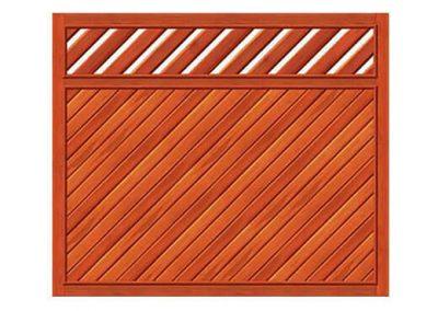 portao de madeira MR26 - madeireira rezende