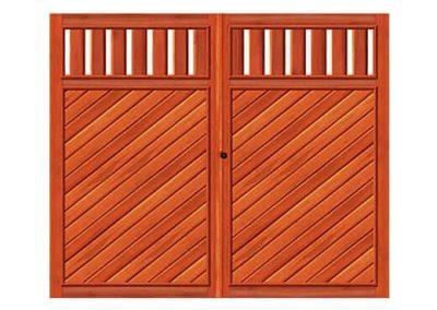 portao de madeira MR29 - madeireira rezende