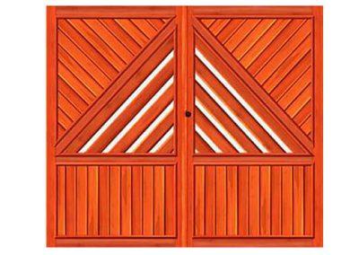 portao de madeira MR3 - madeireira rezende