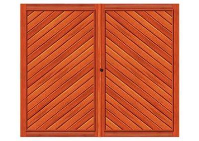 portao de madeira MR37 - madeireira rezende