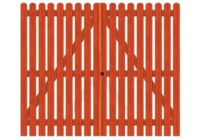 portao de madeira MR41 - madeireira rezende