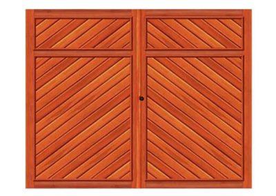 portao de madeira MR46 - madeireira rezende