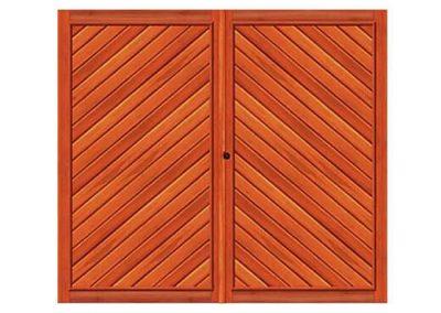 portao de madeira MR47 - madeireira rezende