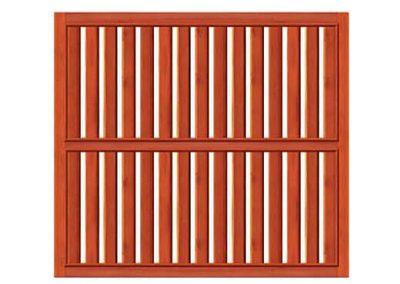 portao de madeira MR49 - madeireira rezende