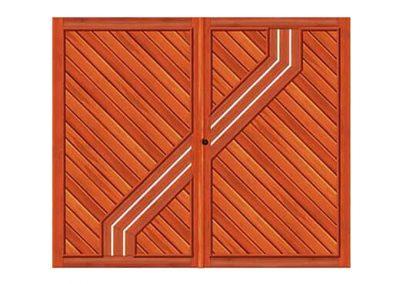 portao de madeira MR50 - madeireira rezende
