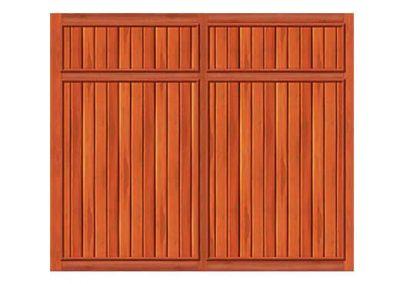 portao de madeira MR54 - madeireira rezende